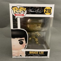 Funko Pop! Movies - Bruce Lee (Enter The Dragon) (Gold)