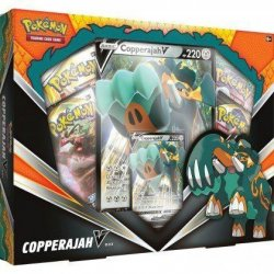 Pokémon TCG Sword & Shield Copperajah V Box