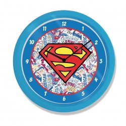 Superman Wall Clock Logo