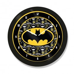 Batman Wall Clock Logo