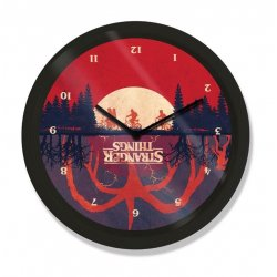 Stranger Things Wall Clock Upside Down