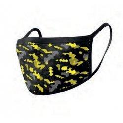 Batman Face Masks 2-Pack Camo Yellow