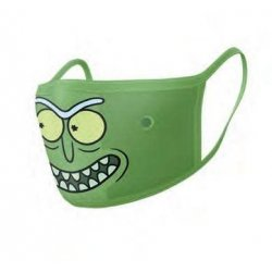 Rick and Morty Face Masks 2-Pack Pickle Rick