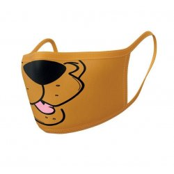 Scooby-Doo Face Masks 2-Pack Mouth