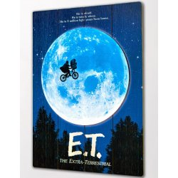 E.T. the Extra-Terrestrial WoodArts 3D Wooden Wall Art The Extra-Terrestrial  30 x 40 cm