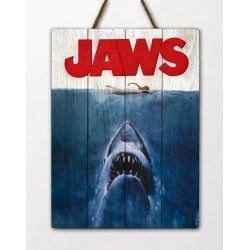 Jaws WoodArts 3D Wooden Wall Art Shark Attack 30 x 40 cm