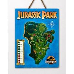 Jurassic Park WoodArts 3D Wooden Wall Art Isla Nublar 30 x 40 cm