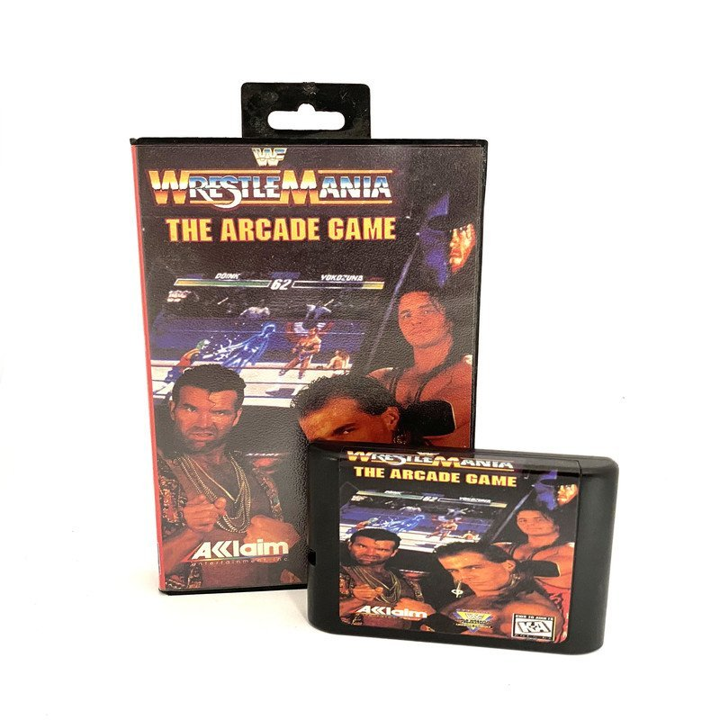 Sega Mega Drive – WWF WrestleMania: The Arcade Game