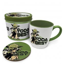 Star Wars Mug with Coaster Yoda Best