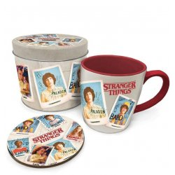 Stranger Things Mug with Coaster Photos