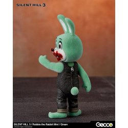 Silent Hill 3 Mini Action Figure Robbie the Rabbit Green Version 10 cm