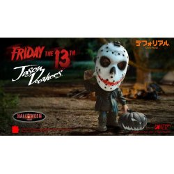 Friday the 13th Defo-Real Series Soft Vinyl Figure Jason Voorhees Halloween Version 15 cm