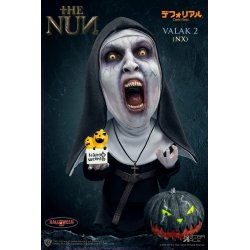 The Nun Defo-Real Series Soft Vinyl Figure Valak 2 Halloween Version (Open Mouth) 15 cm