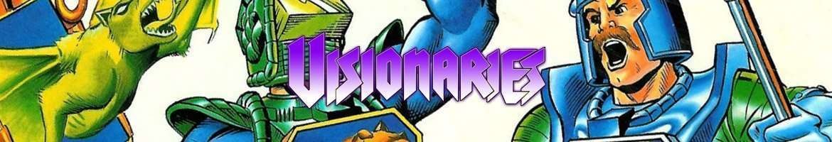 Visionaries Action figures