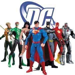 DC Comics action figures and merchandise