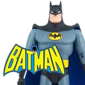 Batman action figures and merchandise