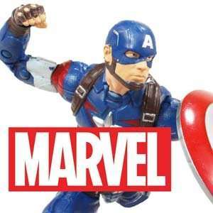 Marvel action figures and merchandise