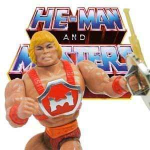 MOTU action figures and merchandise