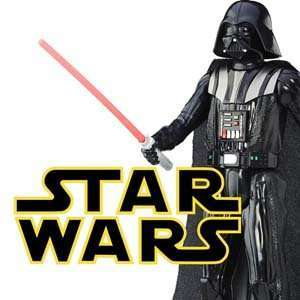Star Wars action figures and merchandise