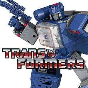 Transformers action figures and merchandise