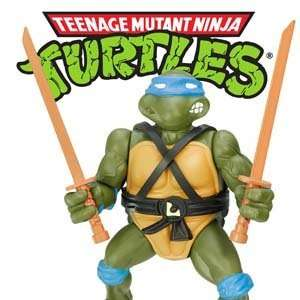 Turtles action figures and merchandise