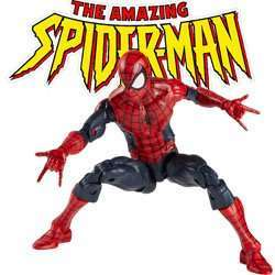 Spider-man action figures and merchandise